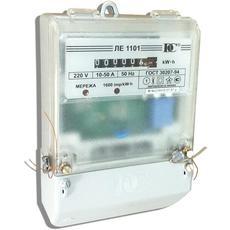 Остановка электросчетчика ЛЕ-1101 магнитом