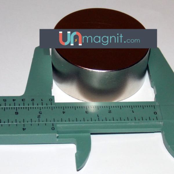 Неодимовый магнит 45x20