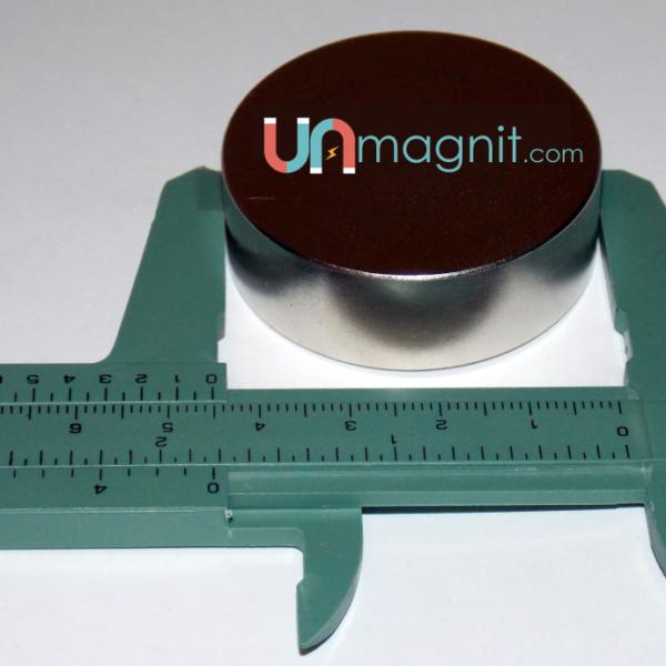 Неодимовый магнит 45х15 силой 40 кг