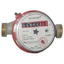 Остановка счетчика воды Novator магнитом
