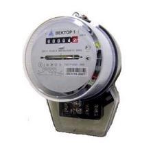 Остановка электросчетчика Вектор 1 неодимовым магнитом
